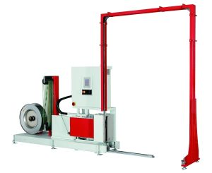 Alpha-arched-automatic-pallet-strapping-machine